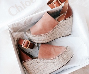 fashion, shoes, and chloe image
