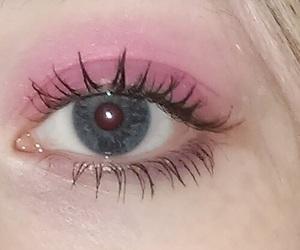 pink, eyes, and grunge image