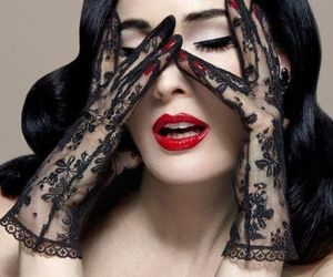 Dita von Teese and woman image
