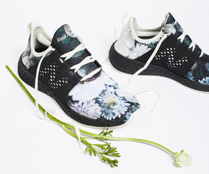 floral, new balance, and sneakers image