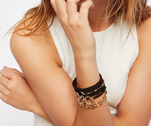 chain link, cuff, and fashion image