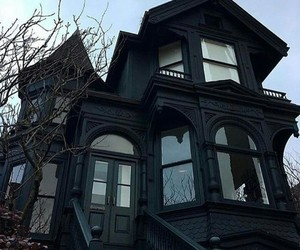 black, goth, and house image