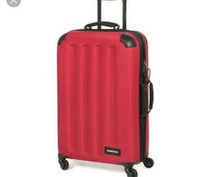 luggage, pink, and eastpak image