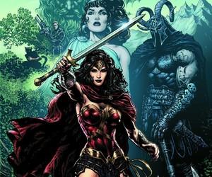 wonder woman, comic, and DC image