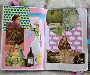 art, Collage, and creative image