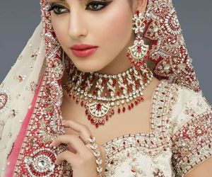 india, indian, and bride image