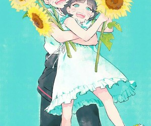 kawaii, uzumaki, and himawari image