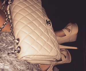 beige, luxurious, and shoes image