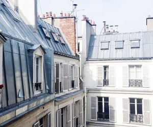 Houses, paris, and window image