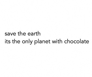 chocolate, funny, and earth image