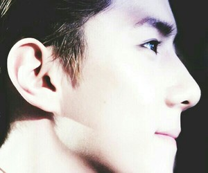 beautiful, exo, and face image