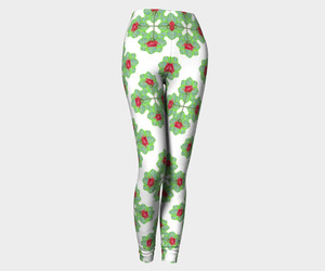 leggings, floral leggings, and fashion leggings image