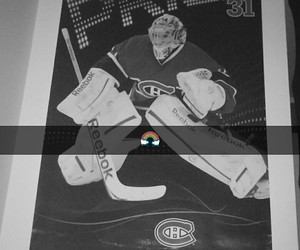 nhl, canadien, and habs image