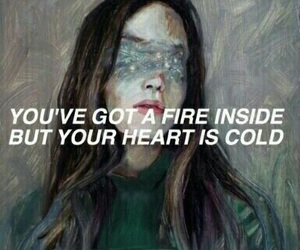 quotes, cold, and fire image