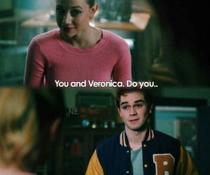 archie andrews, riverdale, and betty cooper image