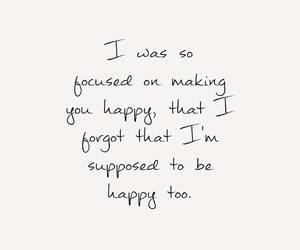 quote, happy, and words image