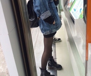 grunge, aesthetic, and outfit image