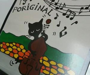 art, cat, and pori image