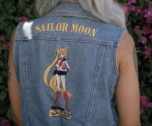 sailor moon, hair, and grunge image