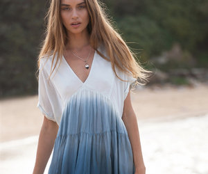 bohemian, dress, and fashion image