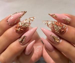 beautiful, pink, and beauty image