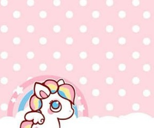 wallpaper, unicorn, and kawaii image