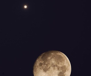 moon, cosmos, and universe image