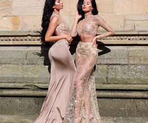 beauty, dresses, and elegant image