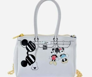 bag, fashion, and mickey mouse image