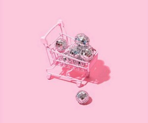 ball, cart, and grunge image