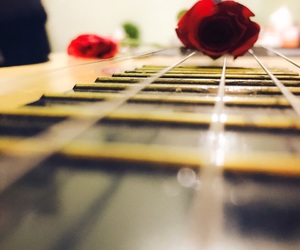beauty, guitar, and twobee image