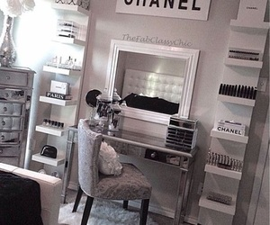 chanel, room, and makeup image