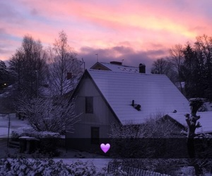 home, stockholm, and snow image
