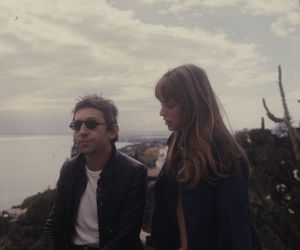 couple, jane birkin, and french image