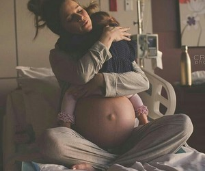 adorable, baby girl, and hospital image