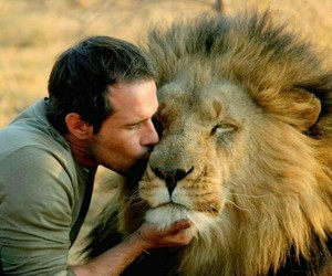 lion and 😋 image