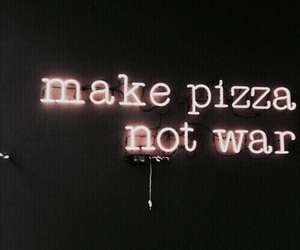 pizza, quotes, and light image