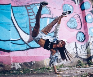 dance, breakdance, and hip hop image