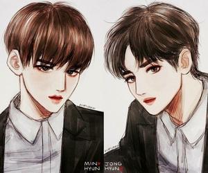 kim taemin, osh7896, and joo haknyeon image
