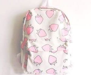 backpack, cool, and fresas image