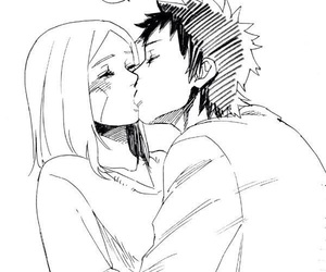 kissing, naruto, and tobi image