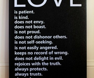 love, quote, and bible image