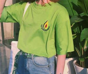 90s and green image