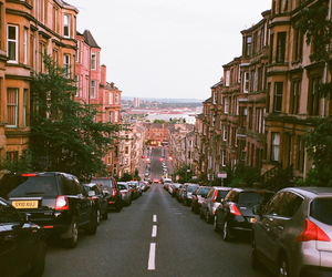 city, street, and indie image