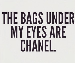 bags, chanel, and eyes image