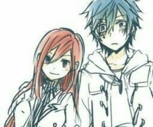 jerza, fairy tail, and erza scarlet image