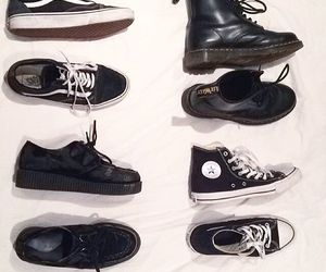 all star, creepers, and converse image