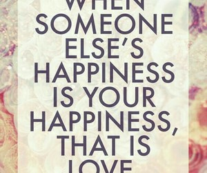 hapiness, quotes, and love image