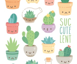 plant and cute image