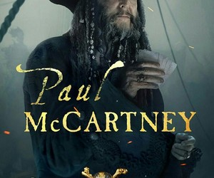 Paul McCartney, dead men tell no tales, and pirates of the caribbean image